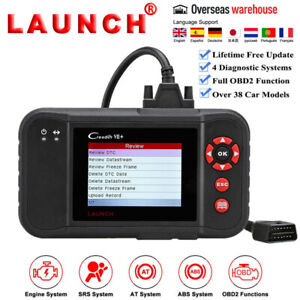 Launch Creader X431 Vii Obd2 Diagnostic Scanner Code Reader Abs Srs Pk Crp123 X