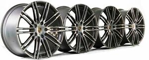 Original Porsche 20 Inch 981 Boxster Cayman Turbo Iii Rims Aluminum Rims New