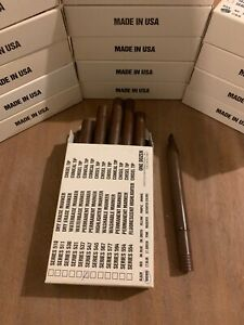 15 Boxes Of 12 Pack Brown Permanent Marker Chisel Tip Pentech Series 547