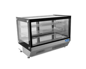 Atosa Crds 42 27 6 Refrigerated Countertop Display Merchandiser Glass Case
