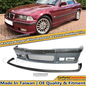M3 Style Front Bumper Cover For Bmw E36 3 Series 1992 1998 With Front Lip Kit