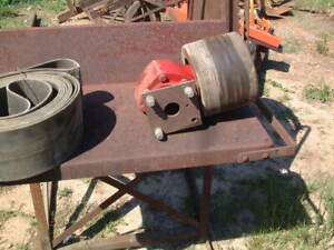Heavy Duty Sawmill Cut Off Saw On Stand Belt Pto Motor 5 Ft X 4 Ft X 51 H