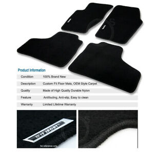 Protection Coating Layer Nylon Carpet Floor Mats Fit 02 07 Jeep Liberty