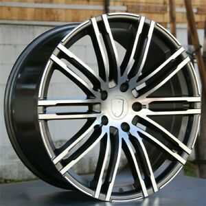 21 21x10 5x130 Porsche Cayenne Sport Edition Style Wheels Turbo S Gts 4new