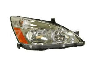 Fits Accord 2003 2007 Headlight Headlamp Assy With Bulb Socket Rh Passenger Side