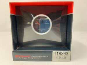 Stewart Warner Oil Temp Gauge Kit 140 320f 1 1 2