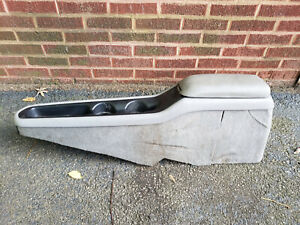 1994 1995 1996 Chevy Impala Center Center Console Gray Grey 10250935