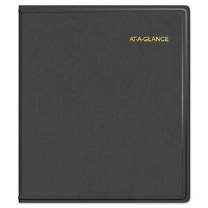 At a glance Refillable Multi year Monthly Planner 11 X 9 White 2020 2024