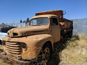 1950 Ford 1 Ton Dump Truck Left Door Hinges Parting Out Complete Car