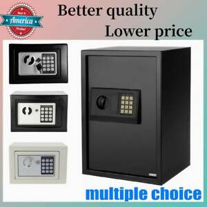 Digital Electronic Cabinets Safe Hidden Security Box Jewelry Cash Portable New