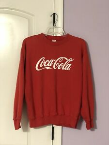 Vintage COCA-COLA Fashion Streetwear Crewneck Sweater