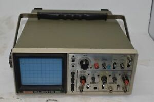 Hitachi V 222 20mhz Two Channel Oscilloscope