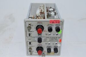 Tektronix Type ca Plug In Unit Dual trace Calibrated Preamp