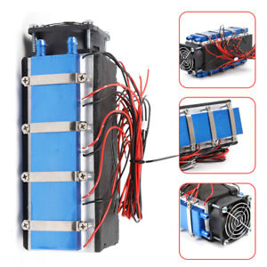 New 8 tec1 12706a Chip Diy Thermoelectric Peltier Cooler Cooling Refrigerator Us