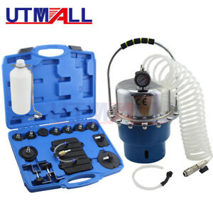 Pneumatic Pressure Bleeder Tool Set Brake And Clutch Bleeding System Tool Brake