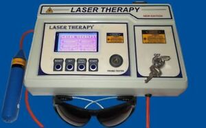 Programmed Different Medical Laser Therapy Software Physiotherapy Unit Machine
