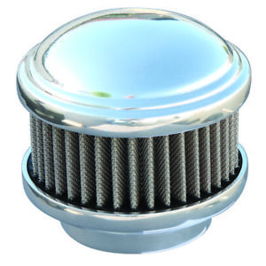 Polished Dome 2 Barrel Air Cleaner Show Quality Aluminum 94 97