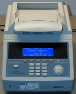 Applied Biosystems Geneamp 9700 Pcr System With 96 Well