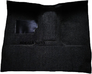Acc Black Molded Carpet 65 72 Ford F100 Pickup C6 High Tunnel Auto Tank In Cab