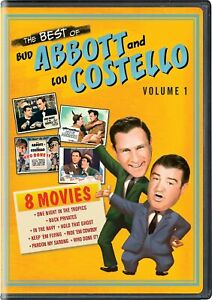 The Best of Bud Abbott and Lou Costello Volume 1 DVD NEW $8.99