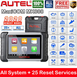 Autel Mk808 Mx808 Automotive Diagnostic Scan Tool Obd2 Scanner Code Reader Immo