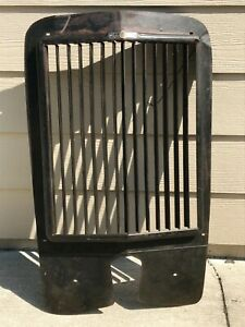 Winterfront Grille Radiator Shutter 1930 S 1920 S Straight Louvers Works Nice