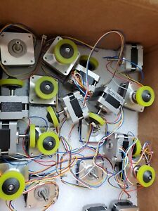 New Stepper Motor Dc Motor With Pulley Wheel Conveyor
