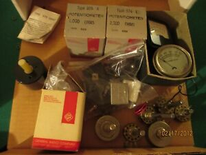 Misc Lot Of Potentiometers