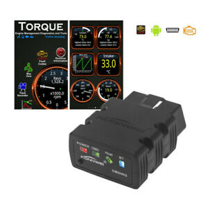 Bluetooth Obd2 Obdii Automotive Scanner For Android Torque Car Fault Code Reader
