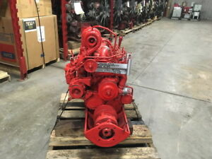 1979 Perkins 6 354 Diesel Engine All Complete And Run Tested