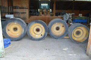 Setco Solid Cushion Wheels Solid Tire Wheel Loader Slicks R74754