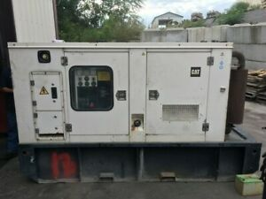 1999 Cat 3056t 100kw Diesel Generator 1800rpm All Complete And Run Tested