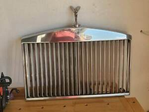 Rolls royce 81 98 Silver Spur Spirit Front Radiator Grill With Flying Lady