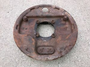 1939 1948 Ford Hydraulic Juice Backing Plate With Hardware Grease Cup Lf