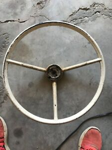 Oem 1961 1970 Ford F100 Truck And 1960 1963 Falcon Steering Wheel White