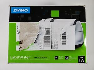 Dymo S0838910 450 Twin Turbo Label Printer Black silver