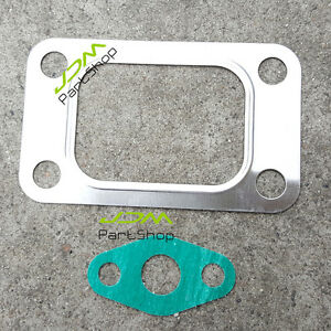 T3 Turbo Manifold Inlet Exhaust Gasket 4 Bolt For T3t4 Gt35 Gt3582 T04e Gt30 New
