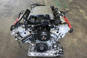 09 2009 Audi A5 3 2 Quattro Coupe Awd Engine Motor W Harness 92k Miles