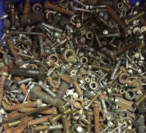 Mixed Lot Screws From New Used 10lbs