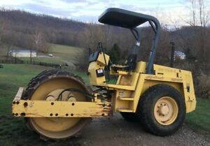 2001 Bomag Bw172 D 2 66 Smooth Drum Roller Compactor With Bolt On Pad Shell Kit