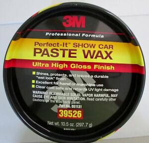3m Paste Wax Perfect It Show Car Wax Durable Wet Look Finish 10 5 Oz