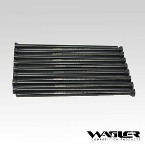 Wagler Heavy Duty Chromoly Pushrod Set 2001 2016 Chevy Gmc 6 6l Duramax Diesel