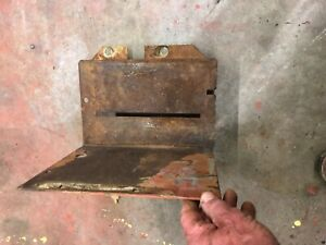 Case 1943 Sc Tractor Battery Tray