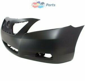 New Painted To Match Front Bumper Cover Fits 2007 2009 Toyota Camry To1000329