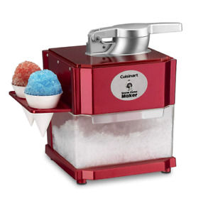 Scm 10 Snow Cone Maker Shaved Ice Frozen Drinks Home Easy Flip Switch Makes Fast