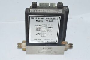 Tylan Fc 260 Air Mass Flow Controller 150 Psi 500 Sccm