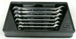 Snap On Metric Double Flare Nut Wrench Set 9mm 21mm