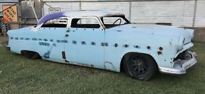 1954 Ford 4dr 5 Chopped Air Bagged 4 Link Drop Spindles