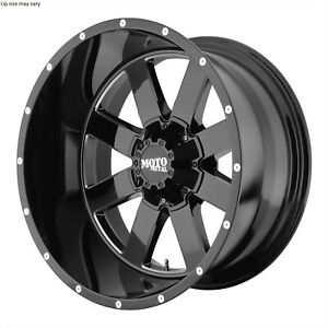 18 Inch 8 Lug 8x165 1 8x6 5 Black N Milled Ram Wheels 18x12 44mm 4 Rims