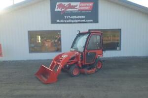 2010 Kubota Bx2660 Tractor W Loader 1054 Hrs 2 Post Rops W Cab 4x4 Belly Mower